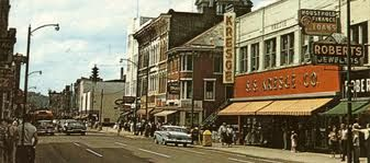 Old Picture of downtown Zanesville Ohio