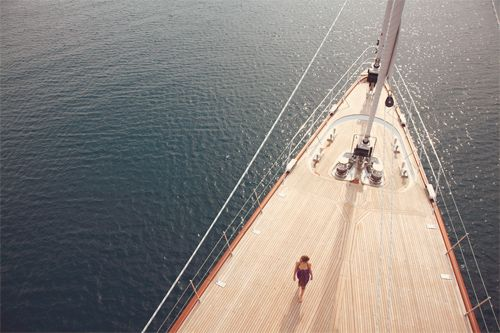 Luxury Yacht Panthalassa.