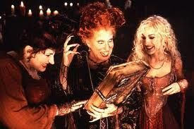 It is essential that Hocus Pocus is watched every Halloween.  This would be the ultimate costume!
