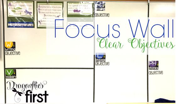 Focus Wall... CLEAR objectives