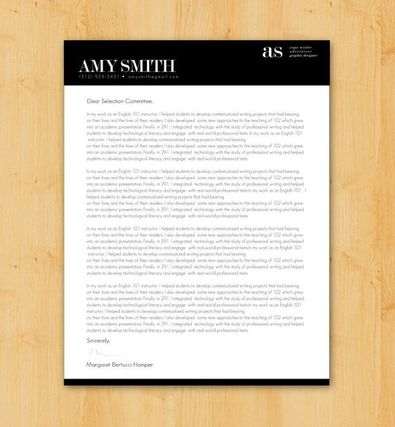 Custom Cover Letter Writing \ Design - Job Application Letter - cover letter writing services