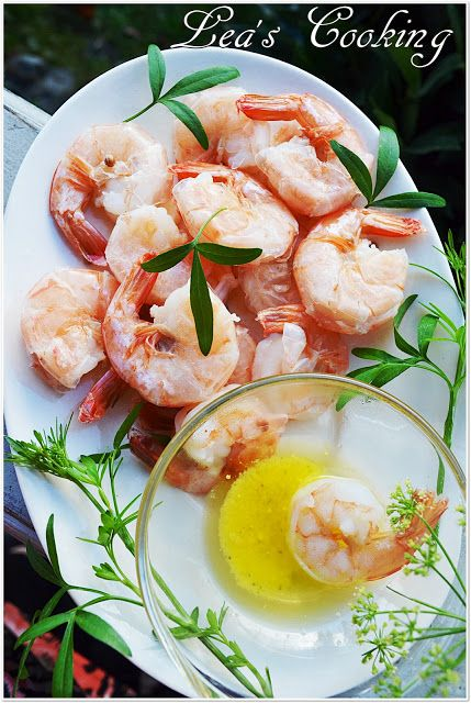 Lea's Cooking: White Shrimps Recipe