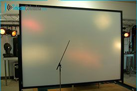 Pantalla para video beam 480x260 cms