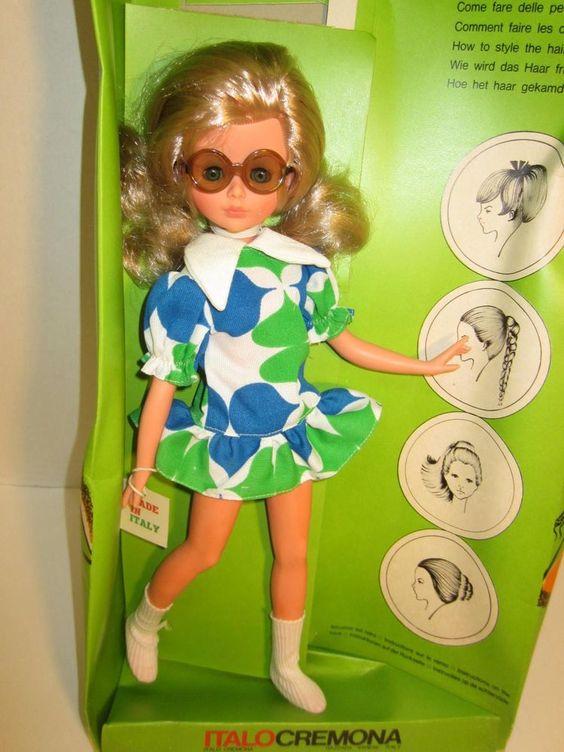 Vintage 1960s Italo Cremona Corinne Fashion Doll