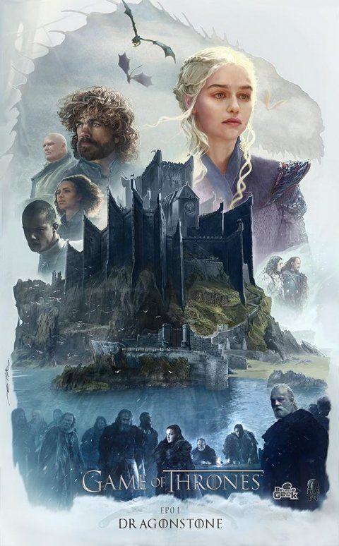 Game of Thrones : un fan a créé une sublime affiche pour chaque épisode de la saison 7 | Fan Actu 🚀