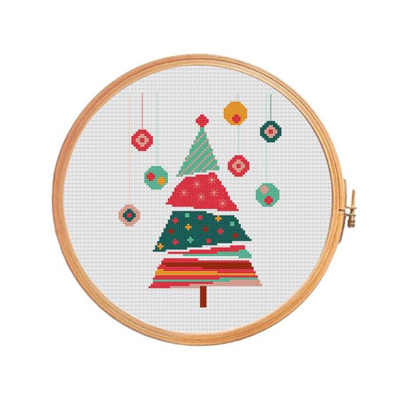 CHRISTMAS TREE cross stitch pattern