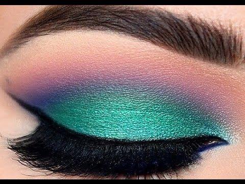 MAQUILLAJE LINDO Y COLORIDO | Maquillaje para lo que sea ♥ Dianna Adel - YouTube