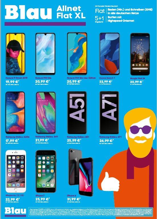 Smartphone Fur 0 Mit Blau In 2020 Mobilfunk Smartphone Funk