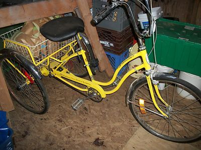 3-speed adult tri-cycle