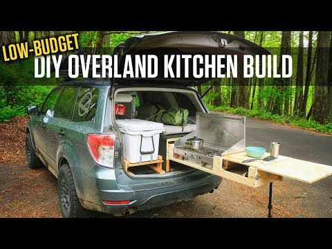 Diy Overland Kitchen Build For My Subaru Forester Youtube Subaru Forester Truck Bed Camping Suv Camping