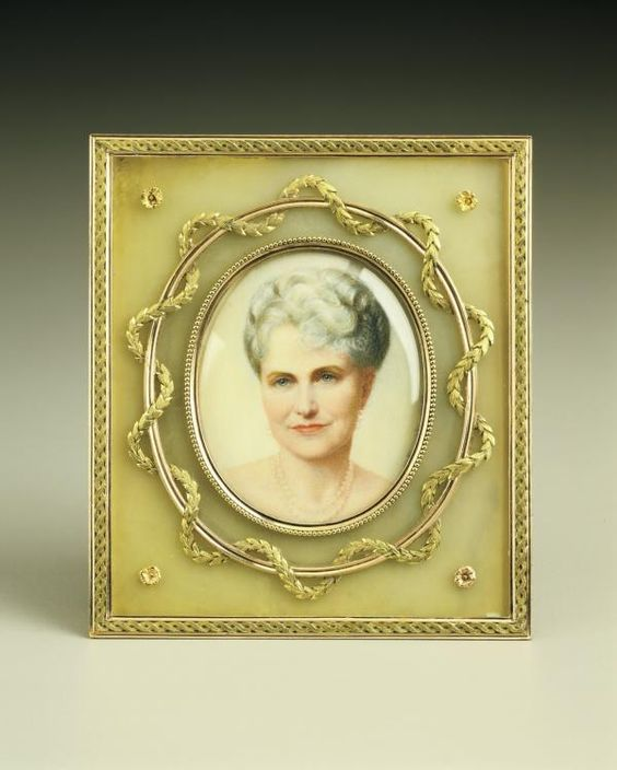 Frame with Miniature of Marjorie Merriweather Post | Hillwood Estate, Museum and Garden