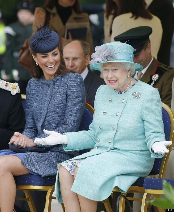 Love this. ~The Queen is unimpressed at a sporting event.