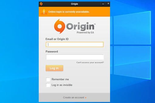 How To Fix Origin Online Login Is Currently Unavailable 2019