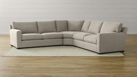 Axis Ii Low Back Sectional Sofa Reviews Crate And Barrel 3 Piece Sectional Sofa Sectional Sofa Sofa Inspiration