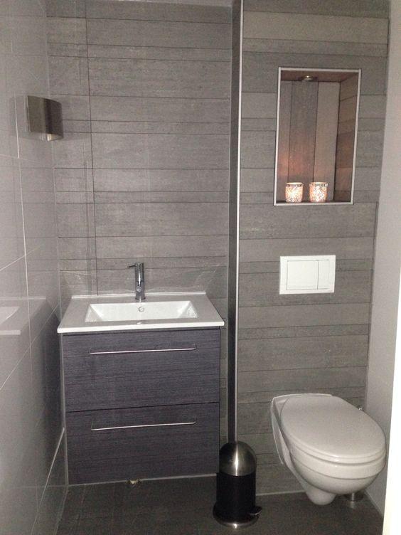 Happy met de nieuwe wc nisje in de muur oostzaan nissen in het huis pinterest - Wc muur tegel ...