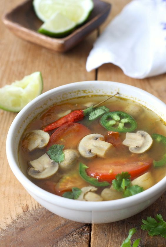 how to cook thai tom yum soup