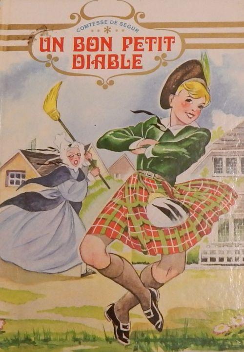 Resultat De Recherche D Images Pour Livre Bon Petit Diable Un Bon Petit Diable Comtesse De Segur Livres Vintage