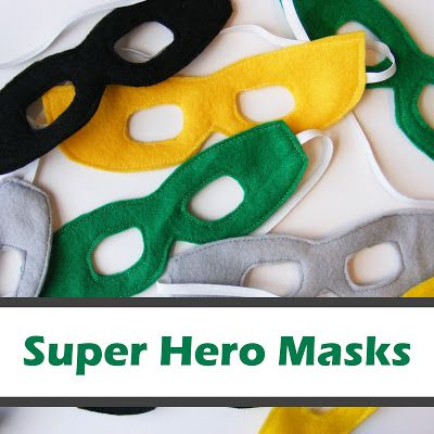 Everyday Art: #Super #Hero #Masks - #FREE #sewing #Pattern by Emily of @Alice Cartee Cartee Art
