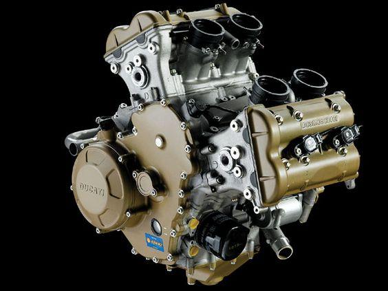 Ducati Desmo V4 Moto GP engine