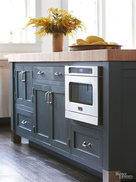 Islands Cabinets And Kitchen Trends On Pinterest