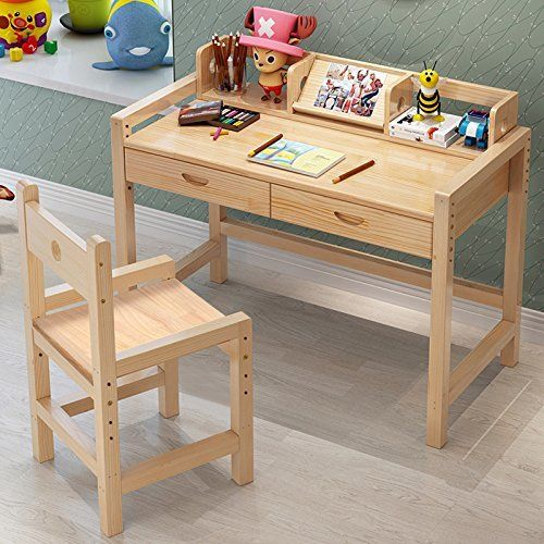 Kids Writing Table Donnie Kids 47 Loiomml Kids Writing Desk Kids Study Desk Desk And Chair Set
