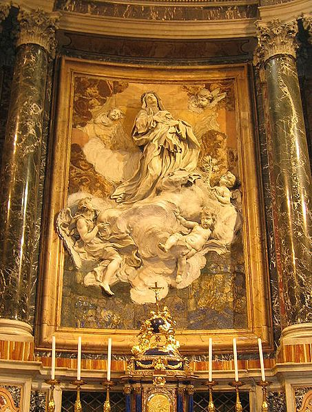 St. Catherine of Siena | http://www.saintnook.com/saints/catherineofsiena - File:Melchiorre Caffà.jpg