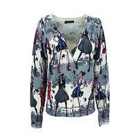 4042 outono menina pintados à mão impressão de manga único breasted casacos de lã de algodão respirável de alta qualidade