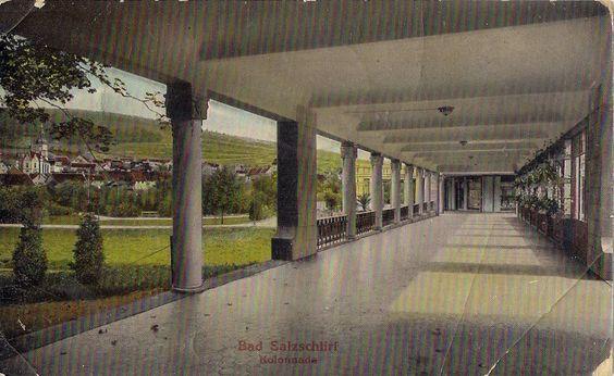 Wandelhalle 1909