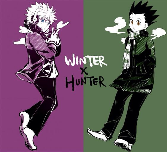 Killua and Gon   ~Hunter X Hunter