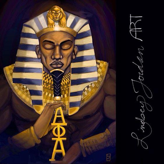 Alpha Phi Alpha art by LindseyJordan