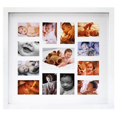 or this one for Olivia! 12-Month White Baby Collage Frame.Opens in ...