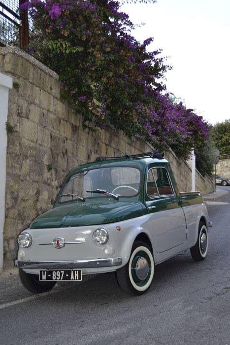 FIAT 500 pick up | Never saw one - I like it Photo Sté PArfait état