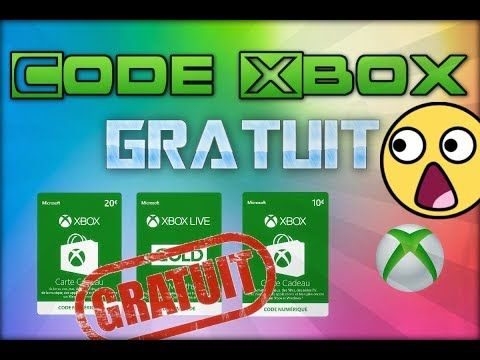 carte cadeau xbox gratuit TUTO] AVOIR DES CODES / CARTES CADEAUX Xbox GRATUITEMENT! [TUTO