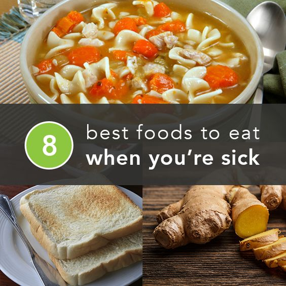 What foods to eat when I'm about to get a Cold?