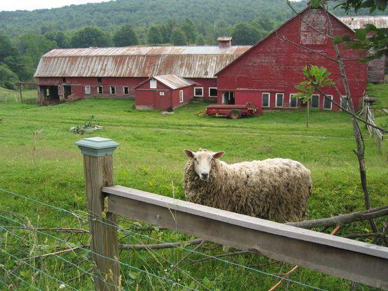 Rural farm in Vermont