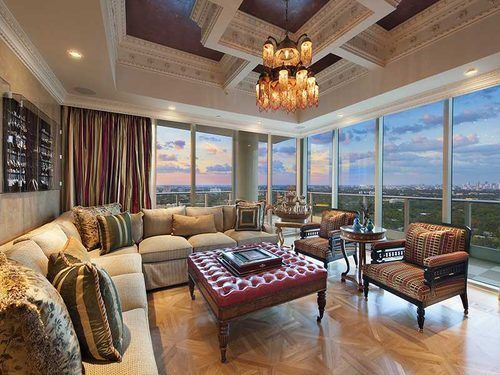 Über-Lavish, Highly Gilded Miami Penthouse House of the Day - Curbed National