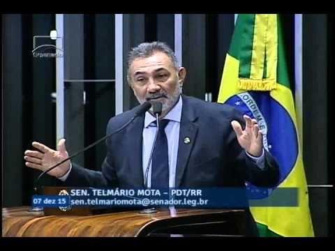Telmário Mota analisa decisão de Cunha de autorizar início de processo d...