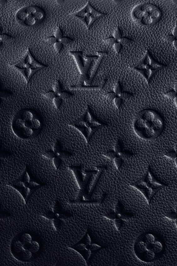iPhone Louis Vuitton black Monogram background / www