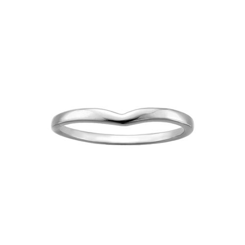 This Lovely Wedding Band Is Finely Crafted From 10 Karat White Gold And Will Match Beautifully With Her Engagemen Womens Jewelry Rings Wedding Bands Engagement