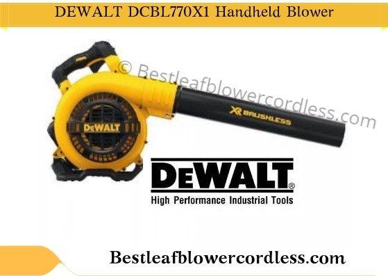 Dewalt Dcbl590x1 40v Backpack Leaf Blower Review 2020 Blowers Cordless Dewalt