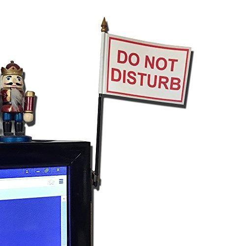 Do Not Disturb Desk Flag Disturbing Office Standard Man Cave Accessories