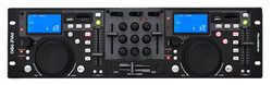 Rack Mount Professional Dual DJ Controller with Scratch, Loop, Mixer, USB, and SD Card Player