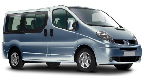 Louez un Minibus 9 Places - Renault Trafic