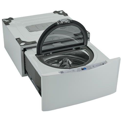 Kenmore Elite 51972 27 1 0 Cu Ft Pedestal Washer White In 2020 Kenmore Elite Tiny House Design Mini Washing Machine