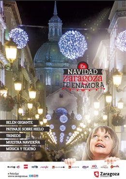 Cartel Navidad Zaragoza 2014: