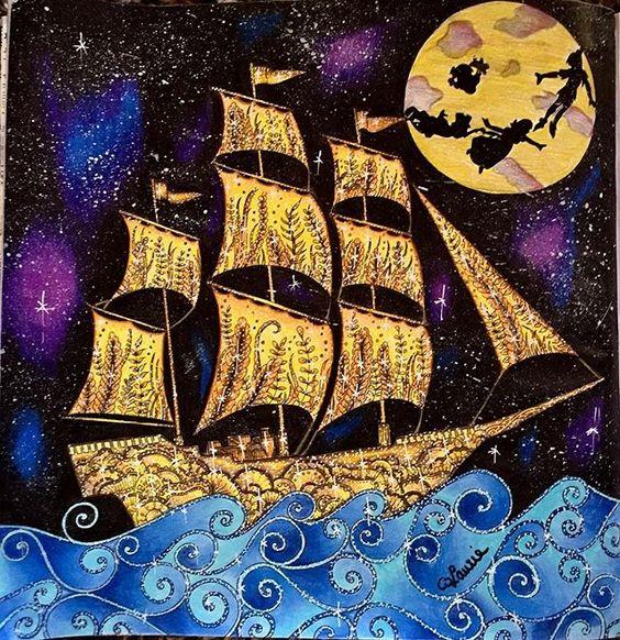 Océan Perdu - Peter Pan   #foretenchantée #forum_da_criatividade #florestaencantada #florestaencantada2  #florestarencantadatop #jardinsecret #jardimdascores #jardimsecreto #nossojardimsecreto #coloringbook #coloriageantistress  @nossaflorestaencantada #jardimcolorido #colorindolivrostop #livrocoloriramo @desenhoscolorir  #nossojardimsecreto #nossojardimcolorido #moncoloriagepouradultes #coloriagepouradulte #coloriageantistress #antistress #coloriagepouradulte #hachette #animorphia  @des...