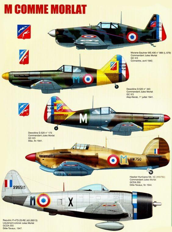 Armée De L'air Française 1940 : armée, l'air, française, L'histoire, L'Armée, L'Air, Travers, Avions, Pilotés, Capitaine, Commandant, MORLAT, (1…, Avion, Militaire, Francais,, Militaire,, Chasse