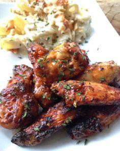 Recette Ailes de poulet au paprika cookeo. Vous pouvez accompagner ce poulet au paprika avec de riz ou pommes de terre Ingrédients (4 personnes) - 4 ailes de poulet - 1 oignon émincé - 120 gr de riz - 2 poivrons émincés - 200 ml de bouillon de volaille - paprika Préparation En mode dorer, fair...
