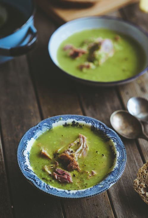 Home Made Pea and Ham Soup