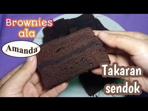 Bongkar Resep Brownies Legendaris Takaran Sendok Youtube Resep Kue Coklat Resep Resep Kue